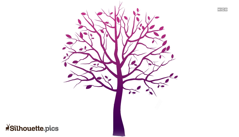 Tree Branch Logo Silhouette For Download
