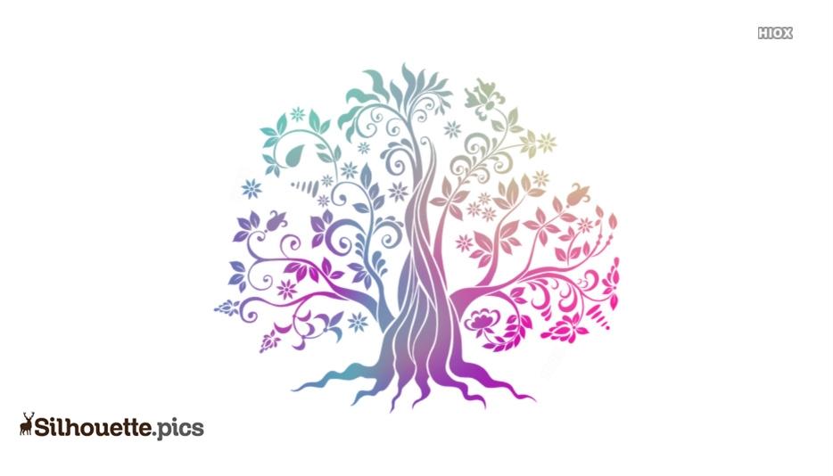 Tree Clipart Silhouette Illustration