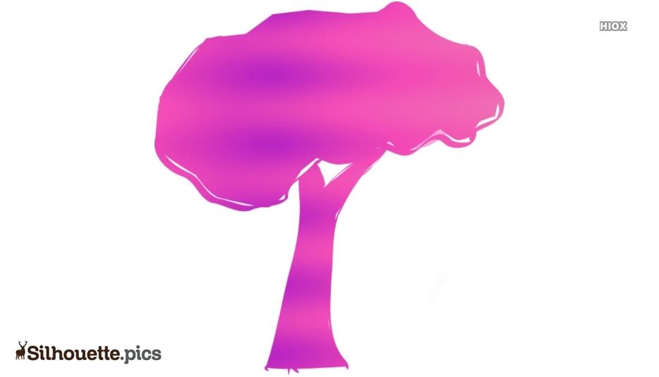 Tree Clipart Symbol Silhouette