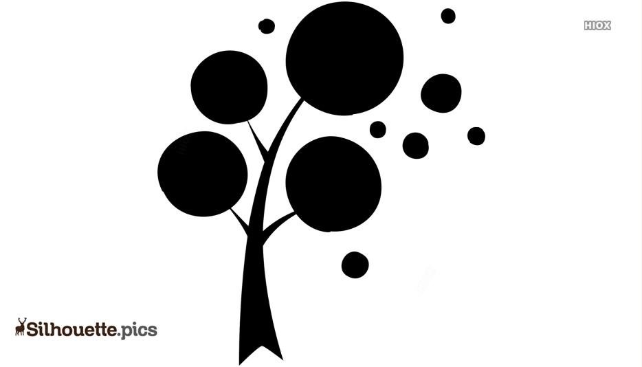 Tree Design Silhouette Images