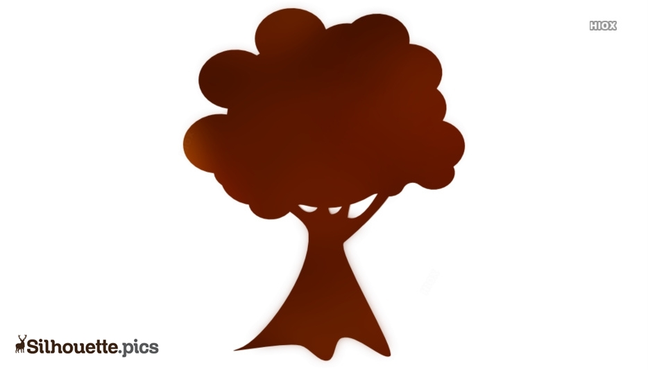 Tree Drawing Silhouette Image And Vector Download