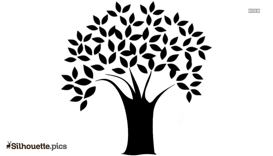 Tree Icon Silhouette Art