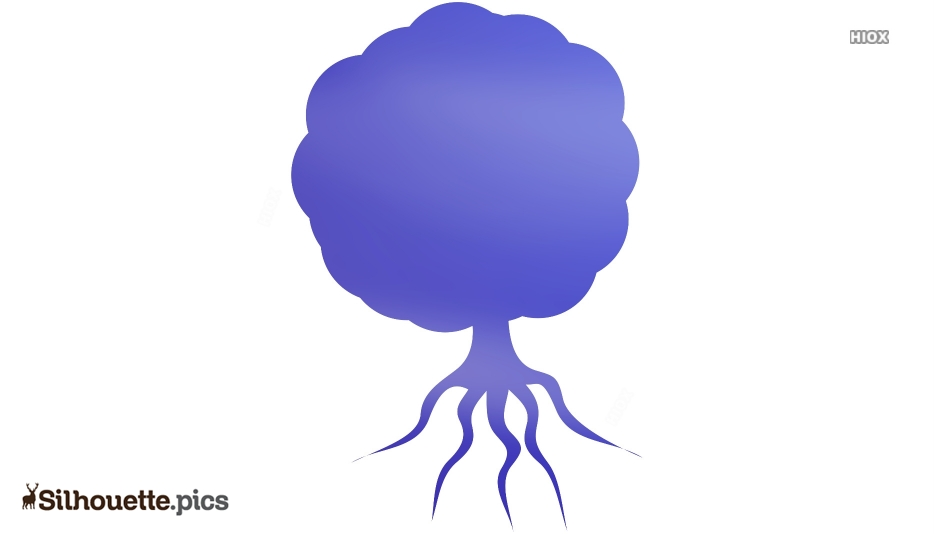 Tree Icon Silhouette Clipart