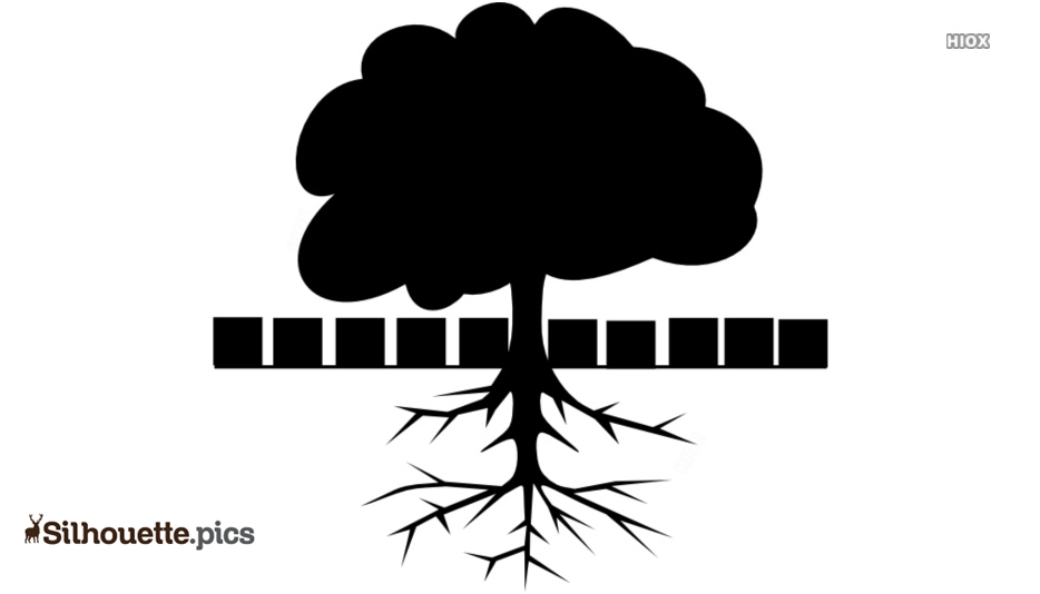 Cartoon Tree With Roots Silhouette Vector Clipart Images Pictures Add your custom graphics and text and quickly create a kid friendly post. cartoon tree with roots silhouette vector clipart images pictures