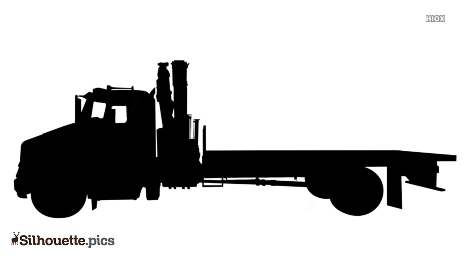 Tow Truck Silhouette Images