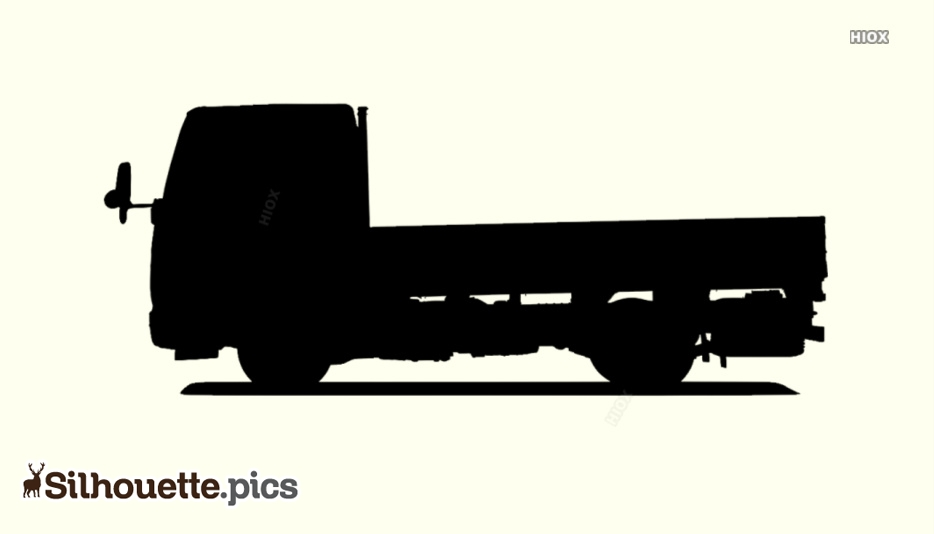 Truck Silhouette Clip Art Vector Images, Pictures