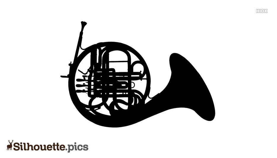 Musical Instruments Silhouette Images