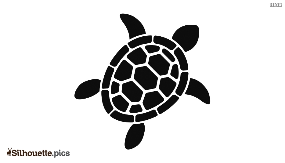 Turtle Silhouette Outline