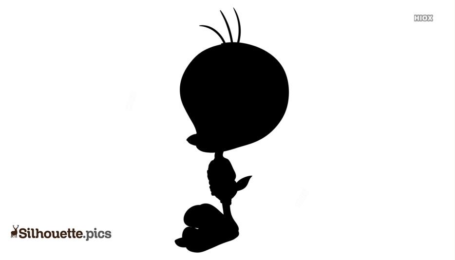 Tweety Looney Tunes Silhouette