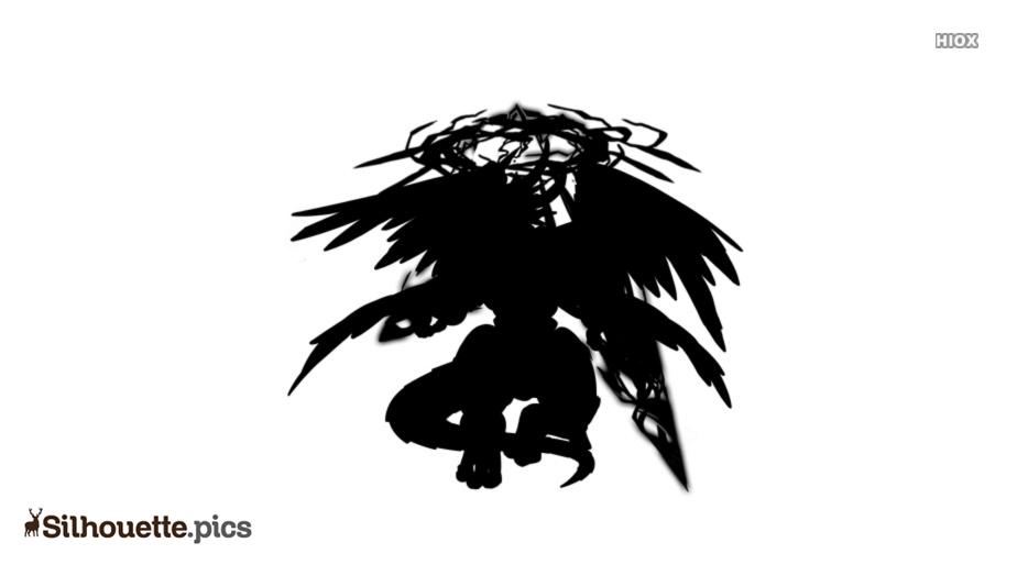 Typhon Monster Silhouette