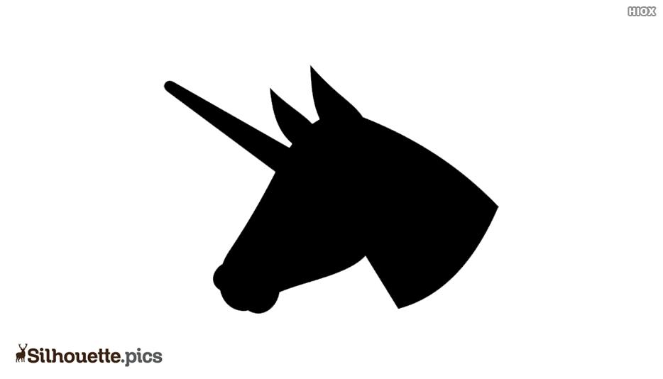 Unicorn Horn Silhouette