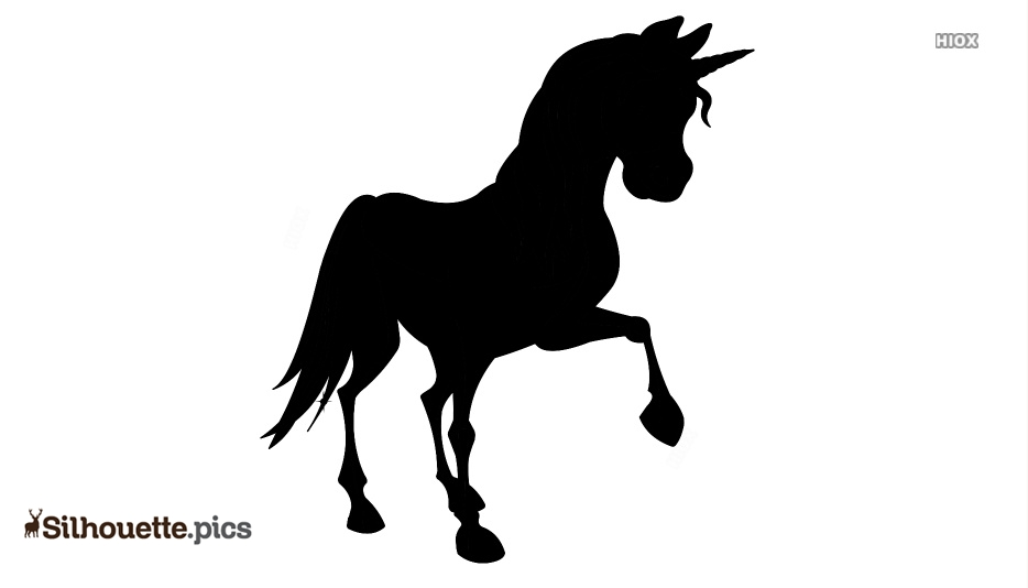Unicorn Silhouette Transparent