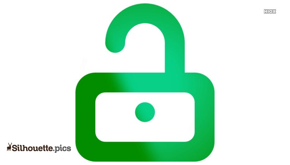 Unlocked Padlock Symbol Icon