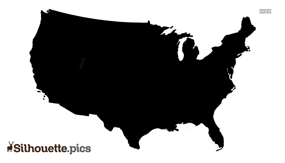 Map Silhouette, Vector Images