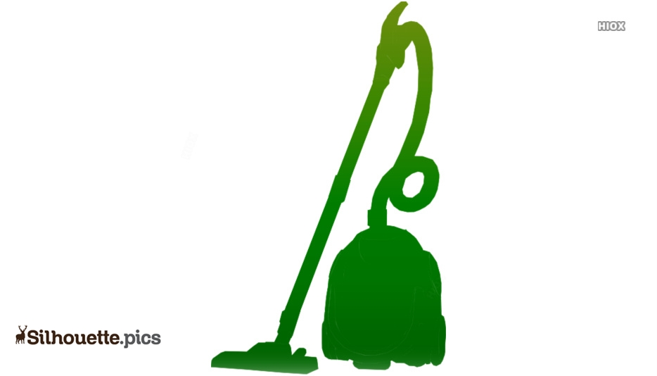 Vacuum Cleaner Silhouette Background