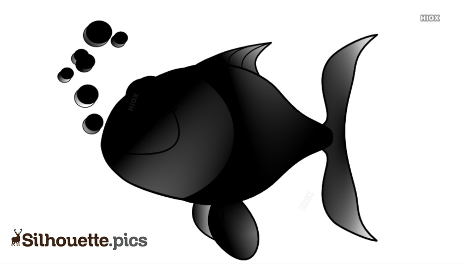 Vector Fish Png Silhouette Image