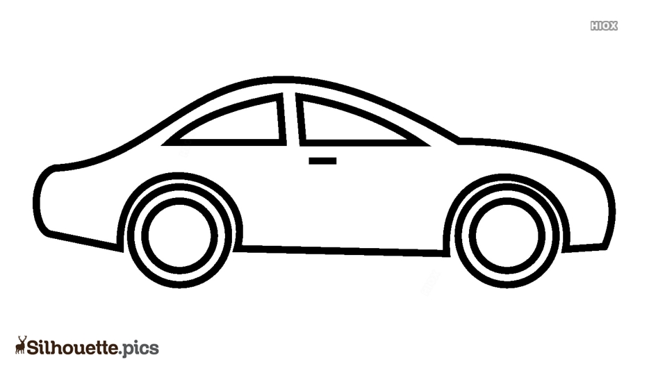 Car Outline Silhouette Images