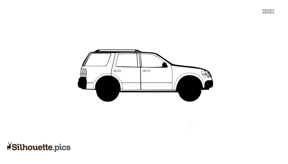 Vehicle Side View Silhouette