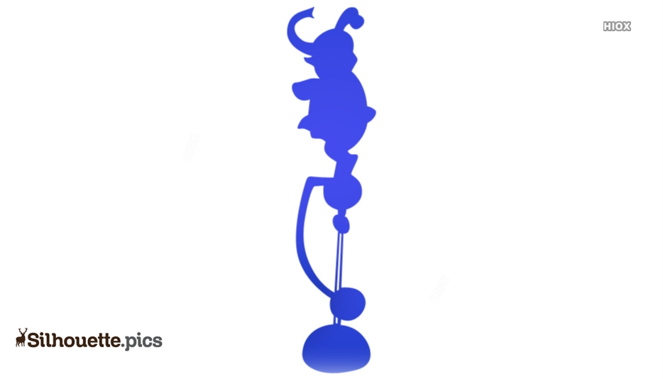 Circus Elephant Silhouette Images