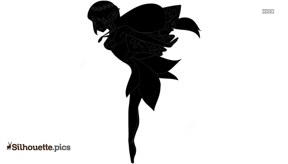Cute Fairy Silhouette Images