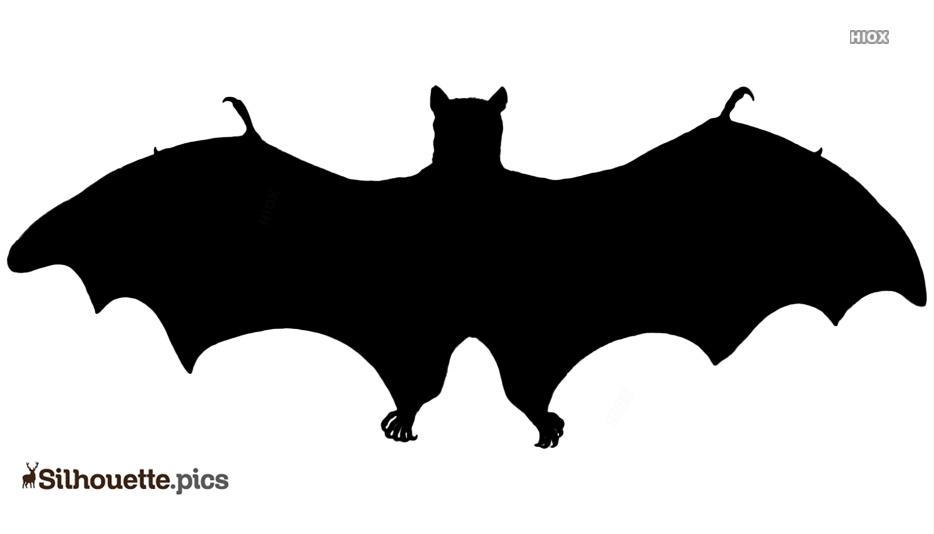 Vintage Halloween Bat Silhouette