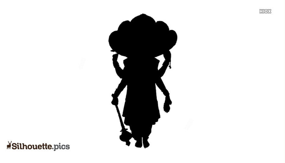Vishnu God Silhouette Images
