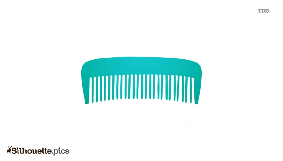 Volumizing Comb Silhouette Background