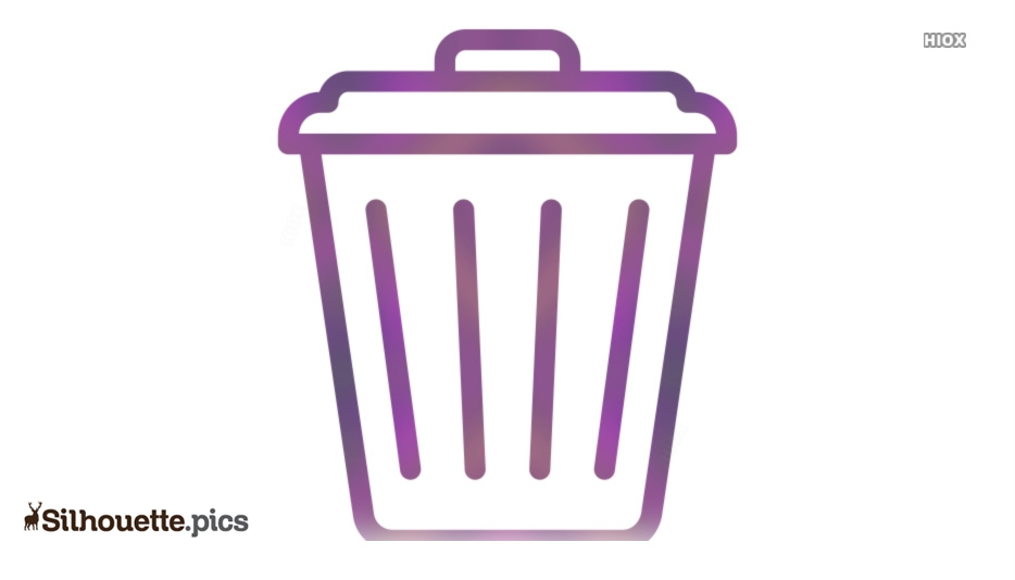 Waste Icon Silhouette Clipart