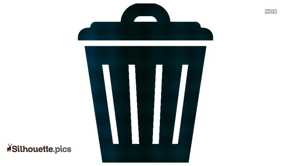 Waste Icon Symbol Silhouette