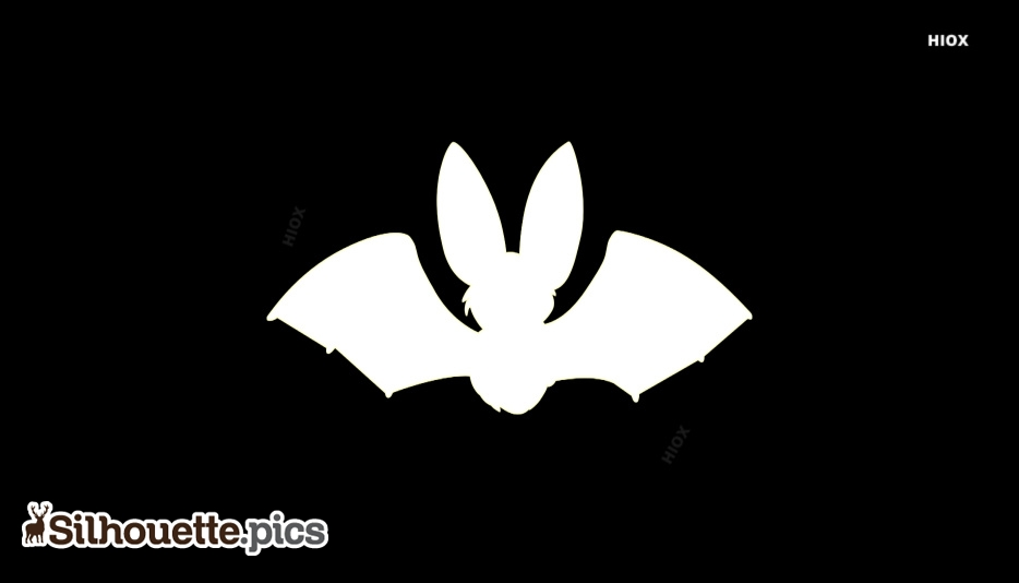 White Bat Silhouette