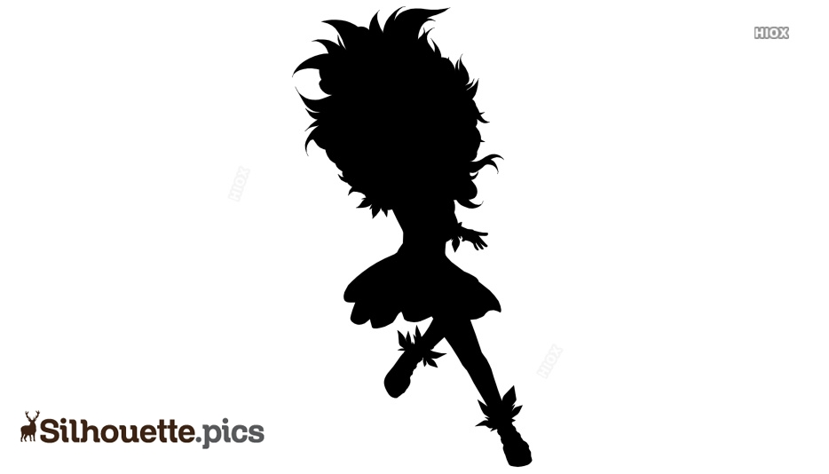 Wild Fairy Silhouette Images