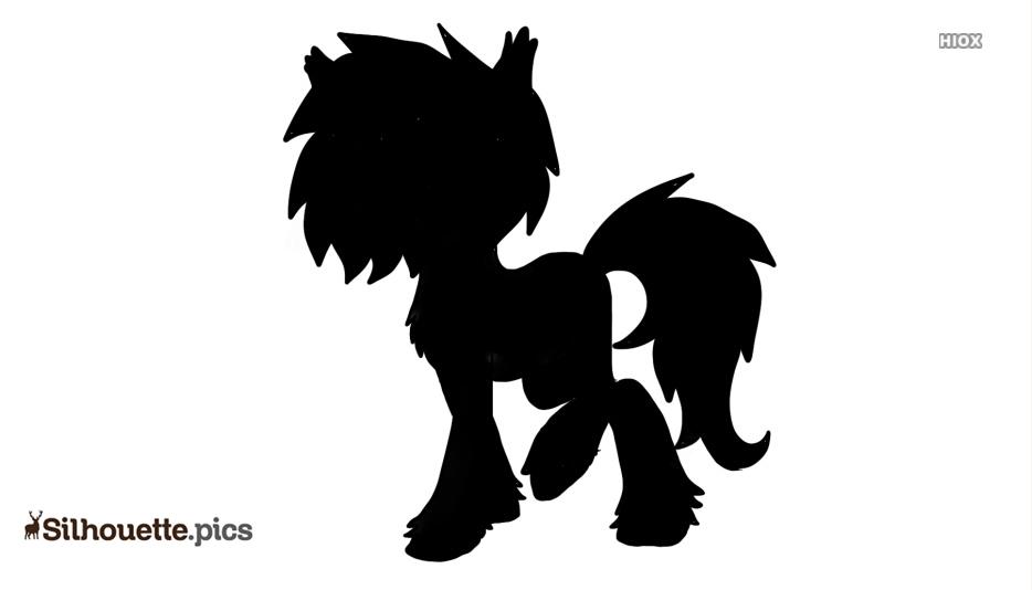 Cartoon Unicorn Silhouette Images