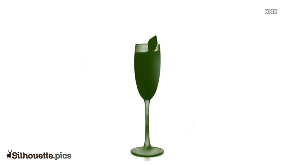 Wine Glass Clipart Silhouette Image And Vector