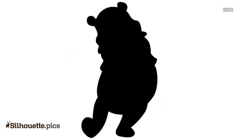 Winnie The Pooh Silhouette Clipart