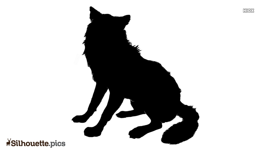 Wolf Art Silhouette Icon