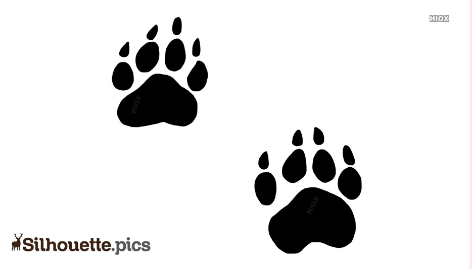 Paws Silhouette Images
