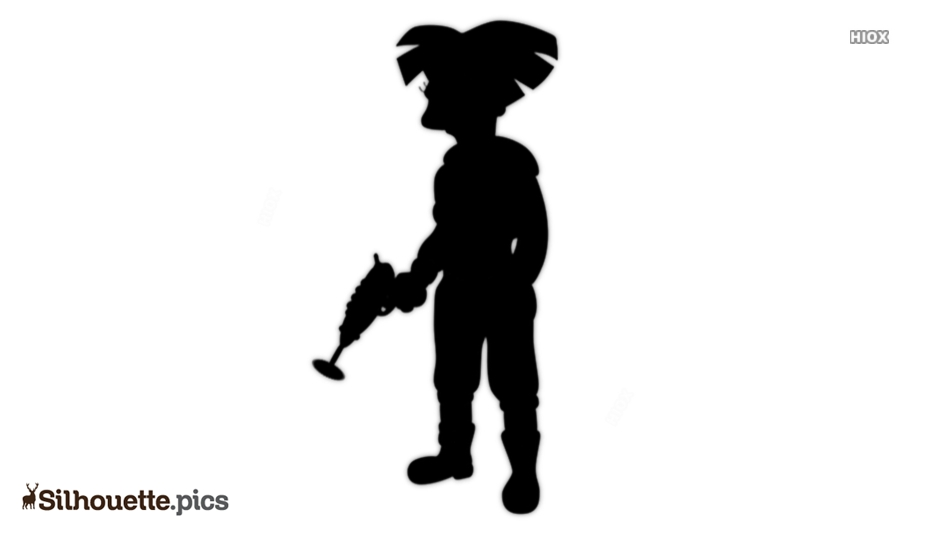 Wong Character Silhouette Icon