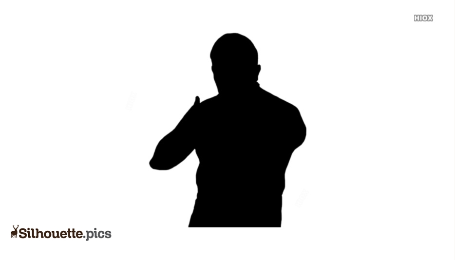 Wrestling Players Silhouette Images