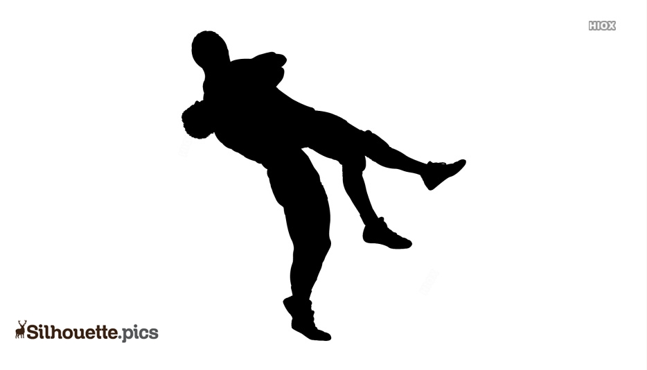 Wrestling Silhouette Images, Pics